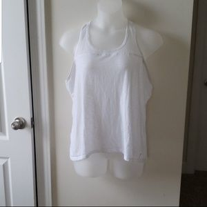 Old Navy Active white workout tank top